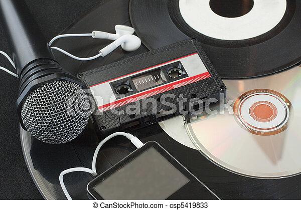 muziek - csp5419833