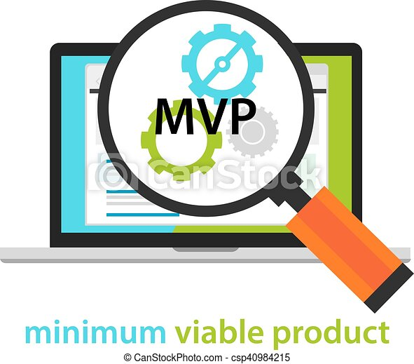 mvp minimum viable product start up working gear software vector rh canstockphoto com vector clipart software free download vector clipart software animals