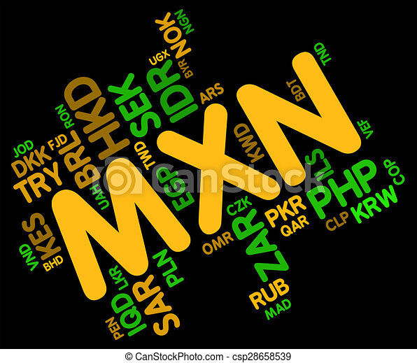 Mxn Currency Means Exchange Rate And Foreign Mxn Currency