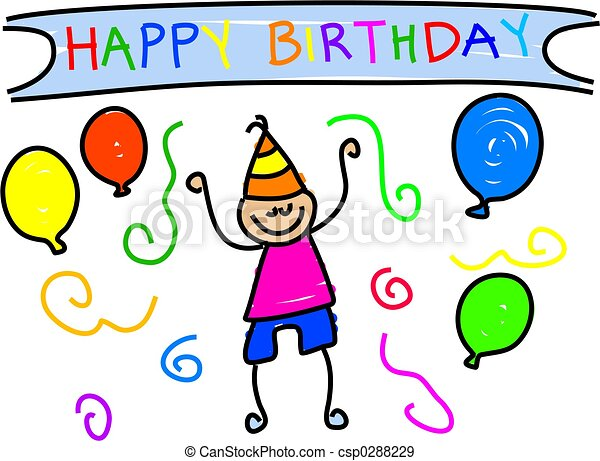my birthday - csp0288229