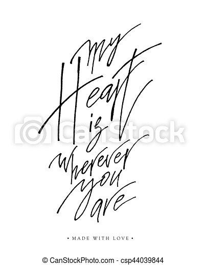 Ooh LaLa Romantic Message Card Love Heart Pink Retro
