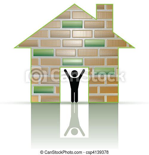My home - csp4139378