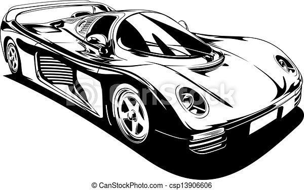 My Original Sport Car Design Vector
