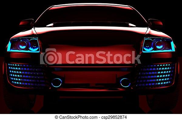My own car design csp29852874