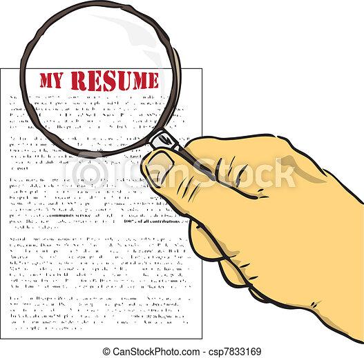 Resumes Stock Illustration Images. 7,754 Resumes illustrations ...