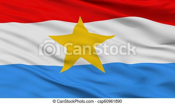 Myanmar armed forces flag closeup view. Myanmar armed forces flag, closeup view, 3d ...