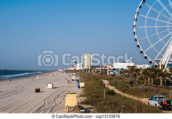 myrtle beach south carolina - csp13133876