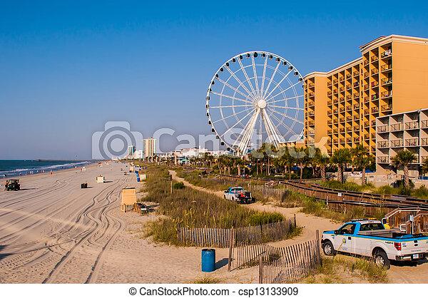 myrtle beach south carolina - csp13133909