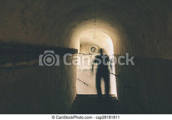 Mysterious underground - csp28181811