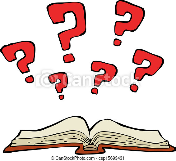 mystery book on a white background vector illustration rh canstockphoto com mystery clip art pictures mystery clip art images