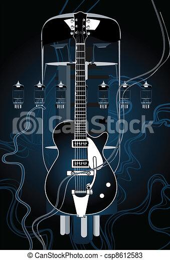 námět, hudba - csp8612583