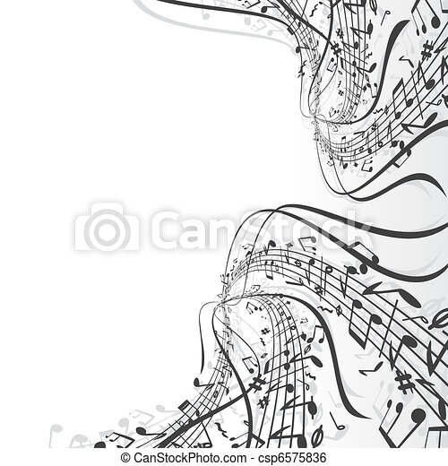 námět, hudba - csp6575836