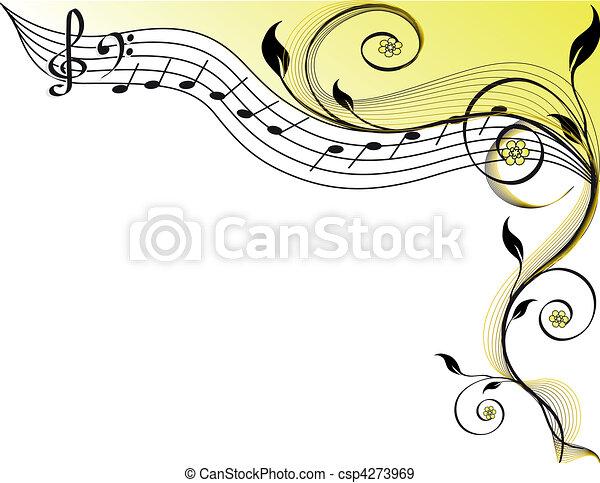 námět, hudba - csp4273969