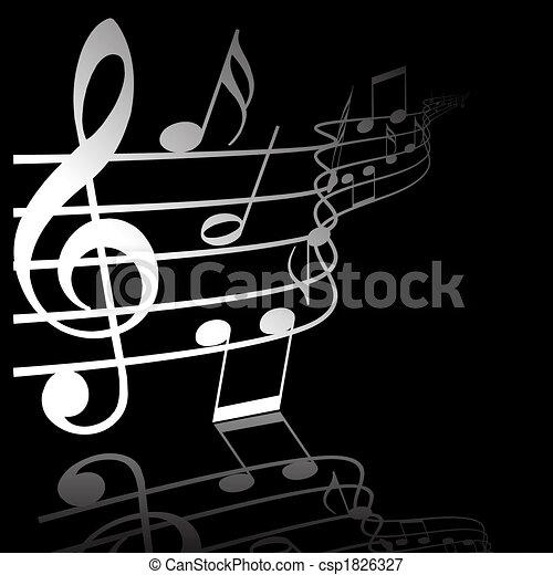 námět, hudba - csp1826327