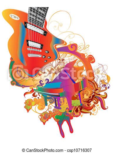 námět, hudba - csp10716307