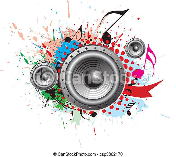 námět, hudba - csp3862170