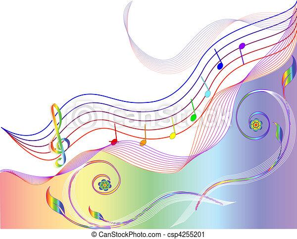 námět, hudba - csp4255201