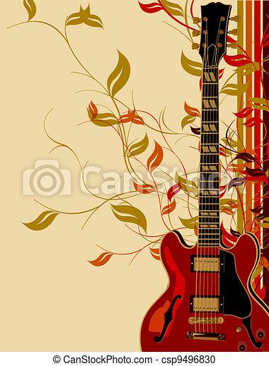 námět, hudba - csp9496830