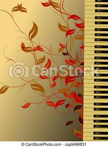 námět, hudba - csp9496831