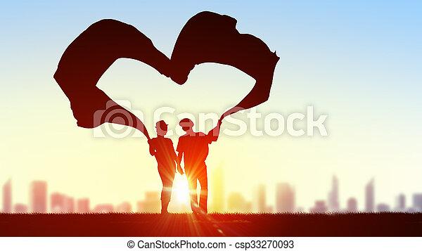 nós, amor - csp33270093