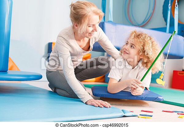nöje, pojke, terapi, ha, under - csp46992015