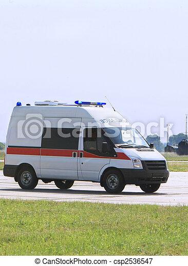 nødsituation, ambulance - csp2536547