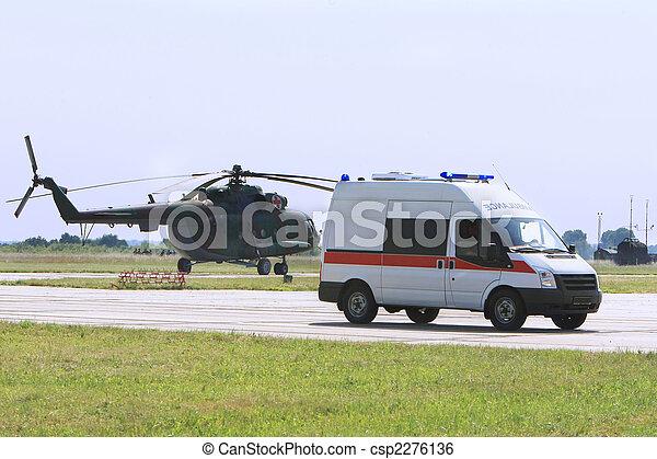 nødsituation, ambulance - csp2276136