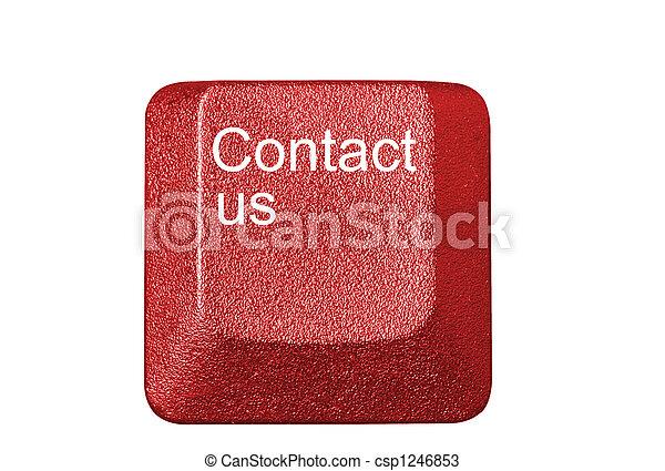 número, símbolos, llave computadora, teclado, carta - csp1246853