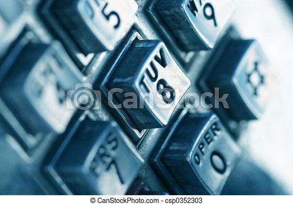 números telefone - csp0352303