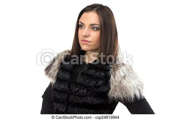 Fekete szőrös hölgyek