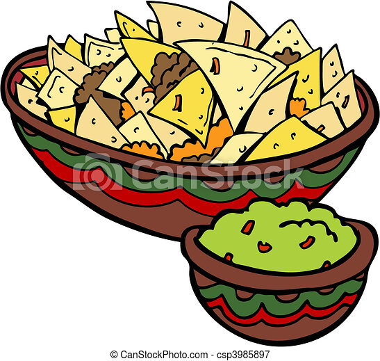 nachos tortilla chips vectors illustration search clipart rh canstockphoto com nachos clipart pictures nacho bar clipart