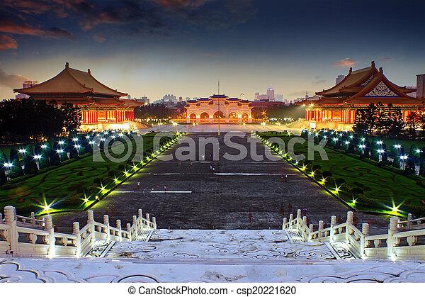 Plaza Nacional de la democracia taiwan - csp20221620