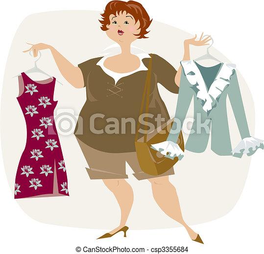 Nada para vestirse - csp3355684