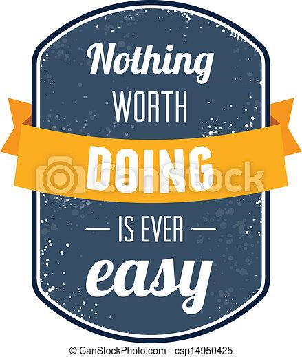 nada, já, valor, fácil - csp14950425