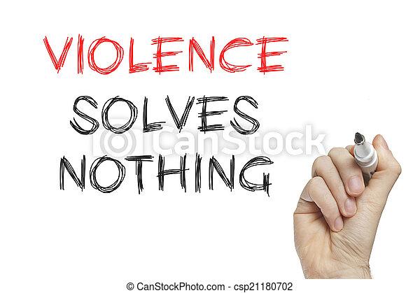 La violencia de escribir a mano no resuelve nada - csp21180702