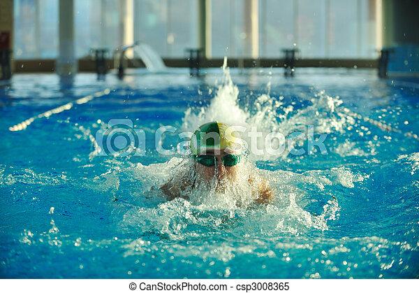 Nadador - csp3008365