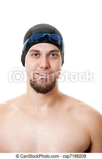 Nadador - csp7188208