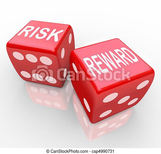 nagroda, -, ryzyko, słówko, jarzyna pokrajana w kostkę - csp4990731