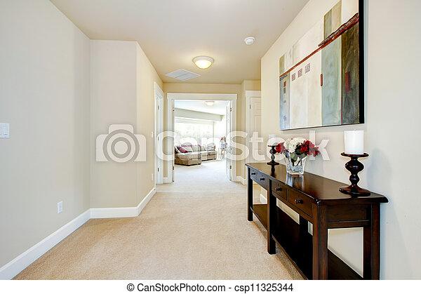nagy, bejárat, művészet, furniture., otthon - csp11325344
