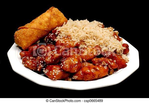 nahrungsmittel chinese - csp0665489