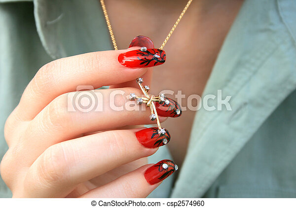 nail art Necklace