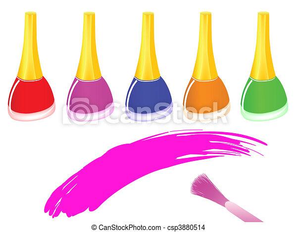 nail polish  - csp3880514