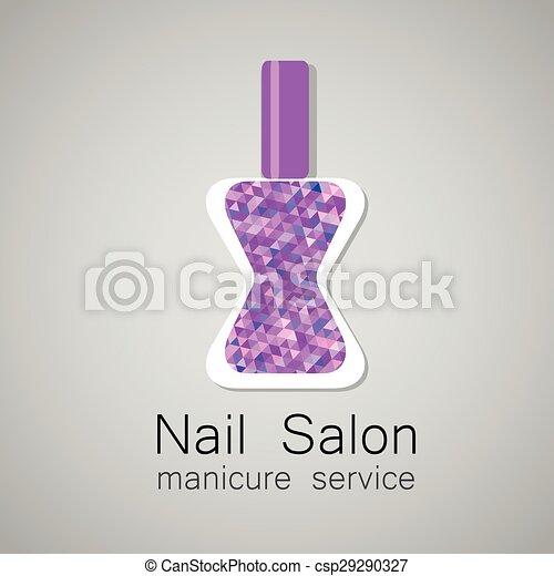 Nail Salon Logo Nail Salon Logo Nail Polish A Symbol Of Manicure
