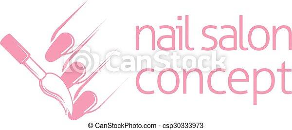 Nail Technician Concept Bar Or Salon