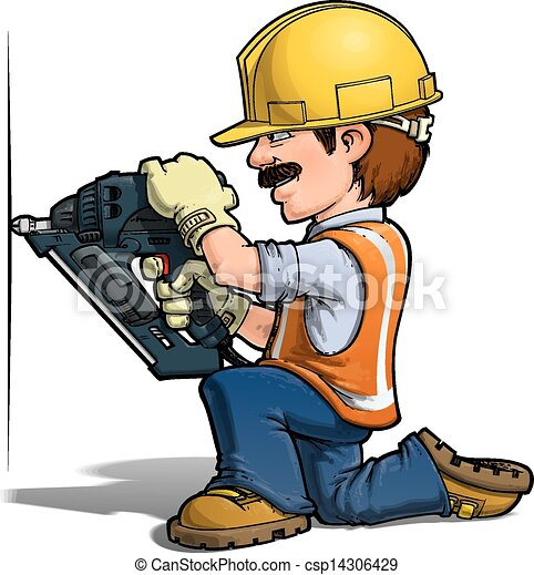 nailling, munkás, -, szerkesztés - csp14306429