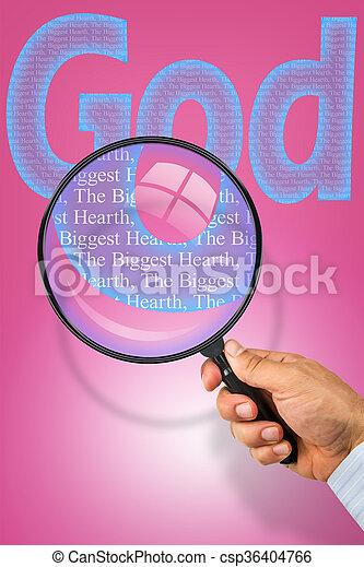 najpoważniejszy, bóg, serce - csp36404766