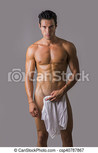 towel with Naked man