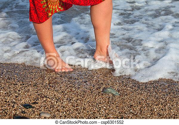 Naked woman on the beach Nude Photos 5