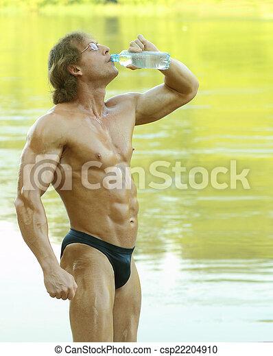fitness modell naken