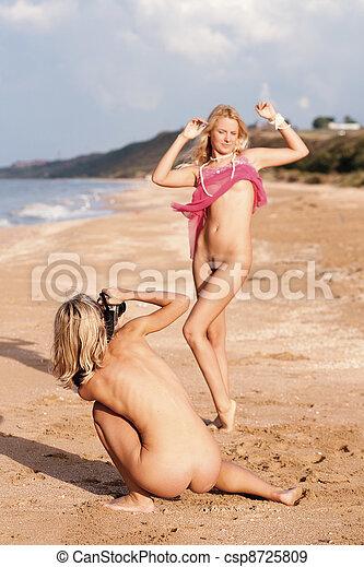 naken bild av flicka